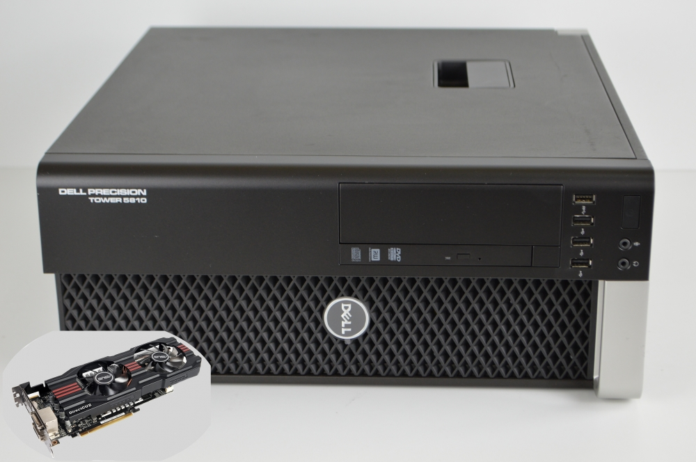 Сервер Dell Precision Tower 5810 + AMD Radeon™ HD 7850 2 Gb