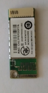 Модуль Bluetooth Dell CW725 0CW725 BCM92045MD