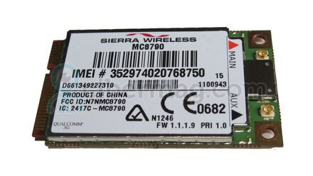 Sierra Wireless MC8790 PCIe HSDPA 3G Module