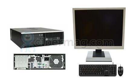 Комплект cистемный блок HP Compaq 8200 Elite SFF + Монитор EIZO FlexScan S1901 + Клавиатура + мышь