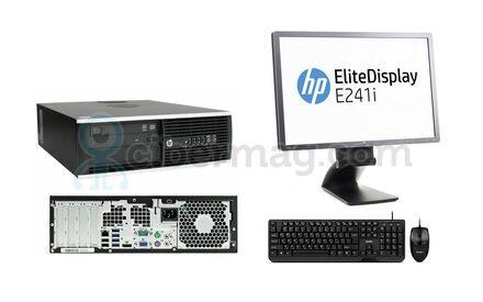 Комплект cистемный блок HP Compaq 8200 Elite SFF + Монитор HP EliteDisplay E241i + Клавиатура + мишь