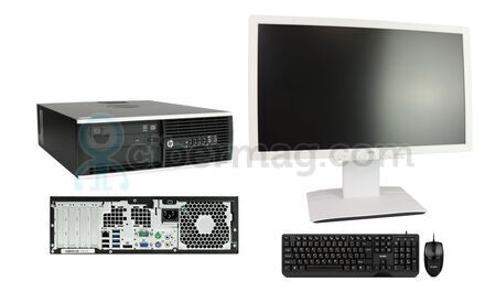 Комплект системный блок HP Compaq 6300 Pro SFF + Монитор Fujitsu B23T-6 + Клавиатура + мышь