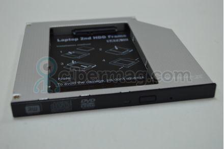 Адаптер Ultra Bay для подключения HDD 2.5'' в отсек привода ноутбука 12.7 мм
