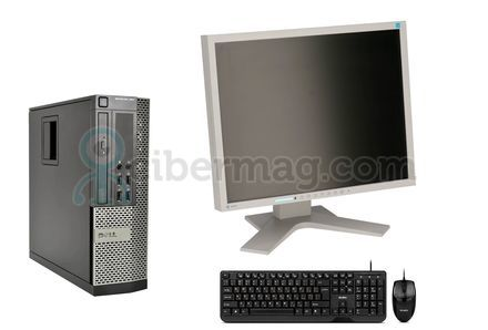 Комплект системный блок Dell Optiplex 990 SFF + Монитор EIZO FlexScan S1901 + Клавиатура + мишь