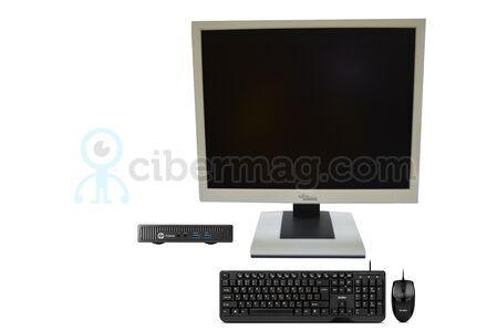 Комплект системный блок HP ProDesk 400 G1 DM + Монитор Fujitsu-Siemens B19-5 + Клавиатура + мишь