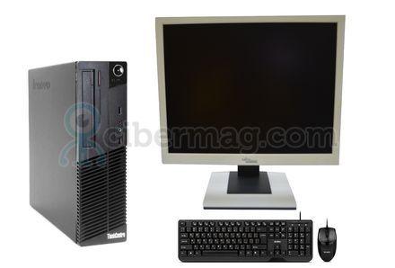 Комплект системный блок Lenovo M70E + Монитор Fujitsu-Siemens B19-5 + Клавиатура + мишь
