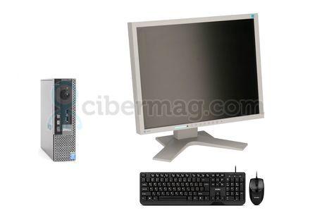 Комплект системный блок Dell Optiplex 9020 USFF + Монитор EIZO FlexScan S1901 + Клавиатура + мишь