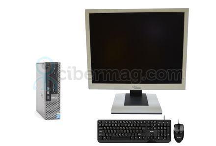 Комплект системный блок Dell Optiplex 9020 USFF + Монитор Fujitsu-Siemens B19-5 + Клавиатура + мишь