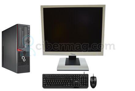 Комплект системный блок Fujitsu Esprimo E700 SFF + Монитор Fujitsu-Siemens B19-5 + Клавиатура + мишь