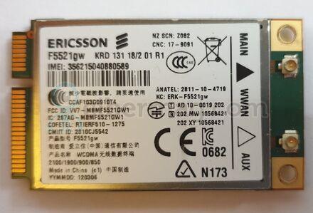 3G+GPS модем Ericsson  f5521gw  для ноутбуков Panasonic, Dell