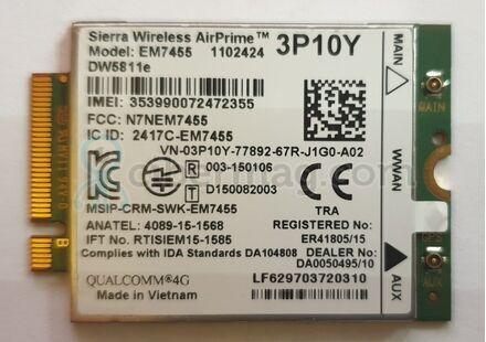 3G-4G-LTE Модем DW5811e EM7455