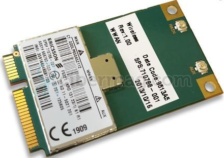 HP Ericsson F5321 hs2350 HSPA+ WWAN MiniCard 668762-003 710788-001