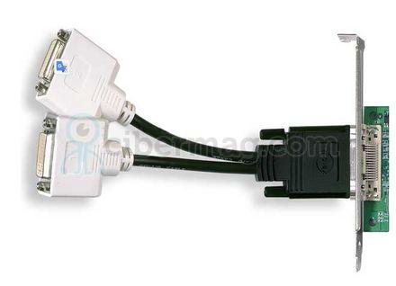 H9361 DMS-59 DUAL DVI SPLIT Y CABLE NVIDIA QUAD VIDEO CARDS