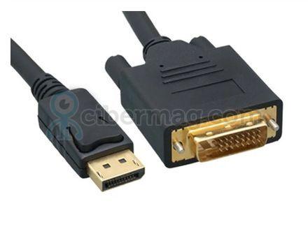 Кабель DisplayPort  DisplayPort AM/AM DVI-D 2m, bk