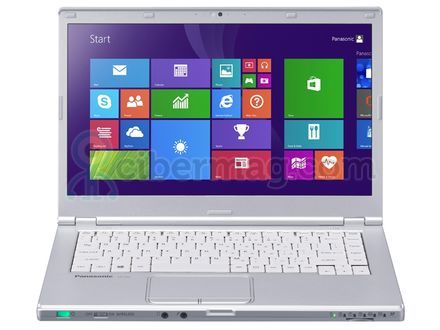 Ноутбук Panasonic ToughBook CF-LX3 12Gb SSD, легкий, прочный