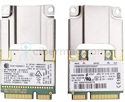 H5321 Lenovo ThinkPad X230 T430 T530 WWAN 3g Modul UMTS HSPA 04W3766  60Y3297