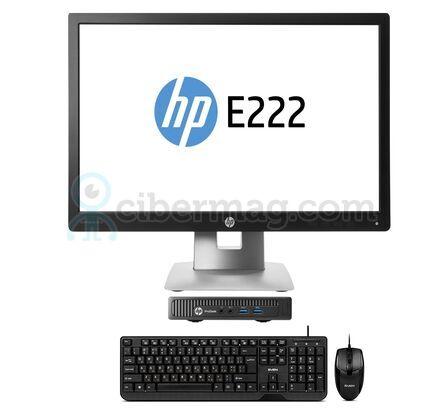 Комплект системный блок HP ProDesk 400 G1 DM + Монитор HP EliteDisplay E222 + Клавиатура + мишь