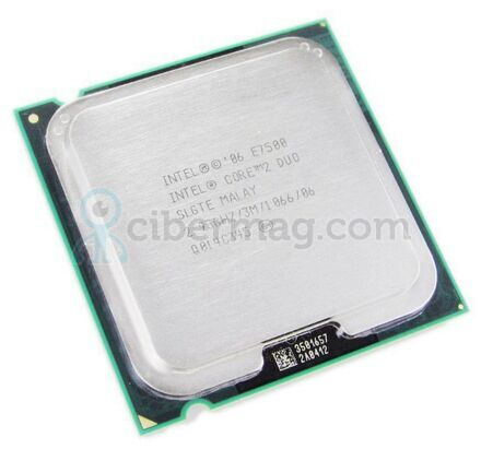 Процессор Intel Core 2 Duo E7500 2.93GHz 3MB 1066MHz Socket LGA 775
