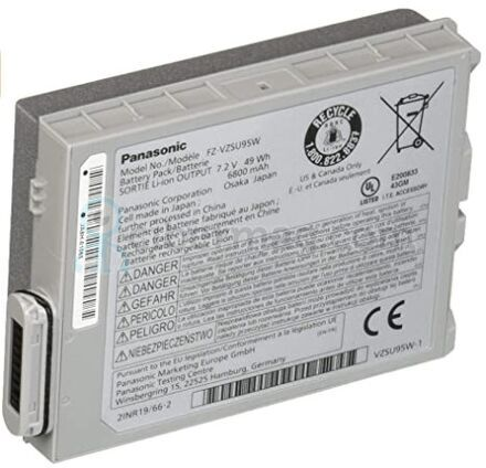 Новая усиленная оригинальная батарея для планшета Panasonic FZ-M1 FZ-VZSU95, FZ-VZSU95W 7.2V 6800mAh