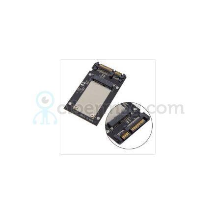 Переходник для ноутбуков mSATA на SATA (для подключения SSD с разъемом mSATA к разъёму SATA - позволяет вместо HDD 2.5 установить mSATA SSD)
