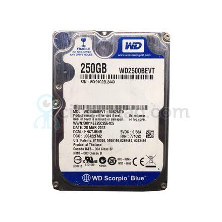 Жесткий диск SATA 2.5 250 Gb