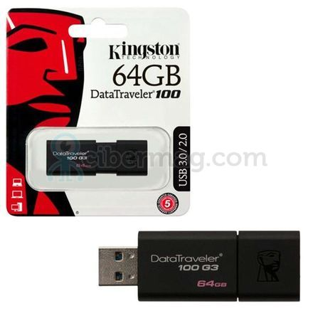 Kingston DataTraveler 100 G3 64GB USB 3.0